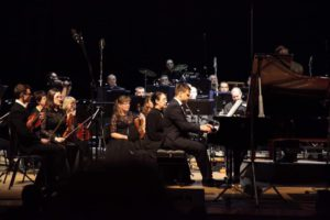 В Томске состоялась премьера «Concertando» для фортепиано с оркестром А. Чернакова. Дирижер - Михаил Грановский, ТАСО
